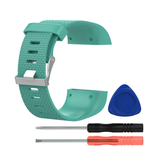 Mobile Mob Fitbit Surge Replacement Band Strap Kit Large / Teal