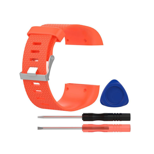 Mobile Mob Fitbit Surge Replacement Band Strap Kit Small / Orange