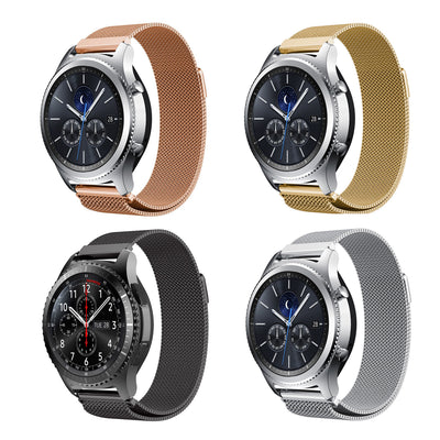 Mobile Mob Milanese Samsung Gear S3 Band Replacement Magnetic Lock Classic & Frontier