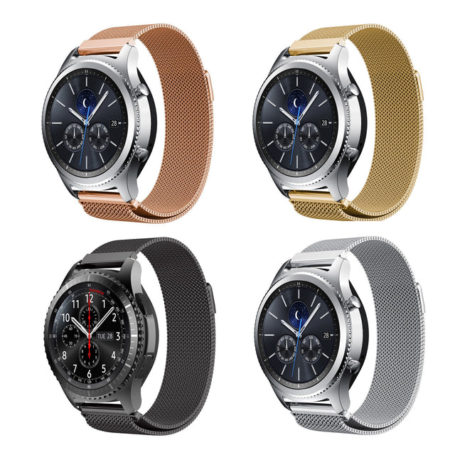 Magnetic Stainless Milanese Samsung Gear S3 Classic & Frontier Bands