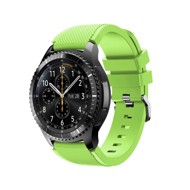 Mobile Mob Samsung Gear S3 Classic & Frontier Bands Replacement Straps Small / Lime