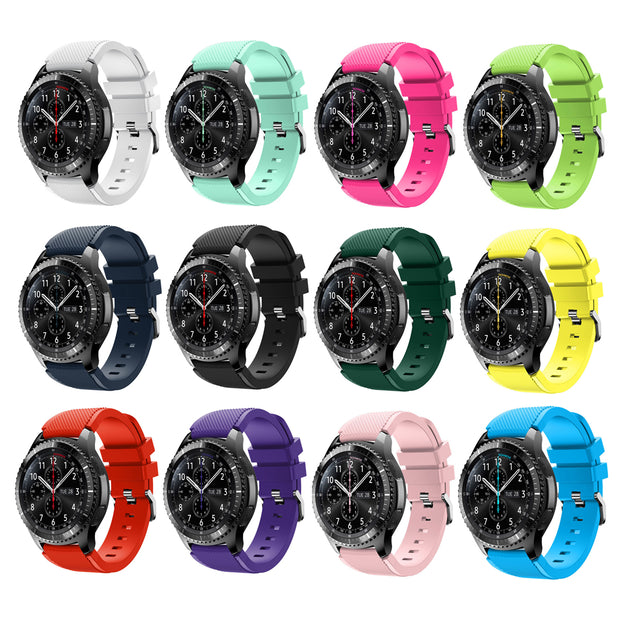 Samsung Gear S3 Classic & Frontier Bands Replacement Straps (Small or Large)