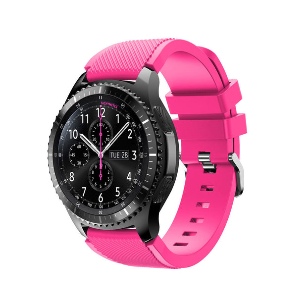 Mobile Mob Samsung Gear S3 Classic & Frontier Bands Replacement Straps Small / Hot Pink