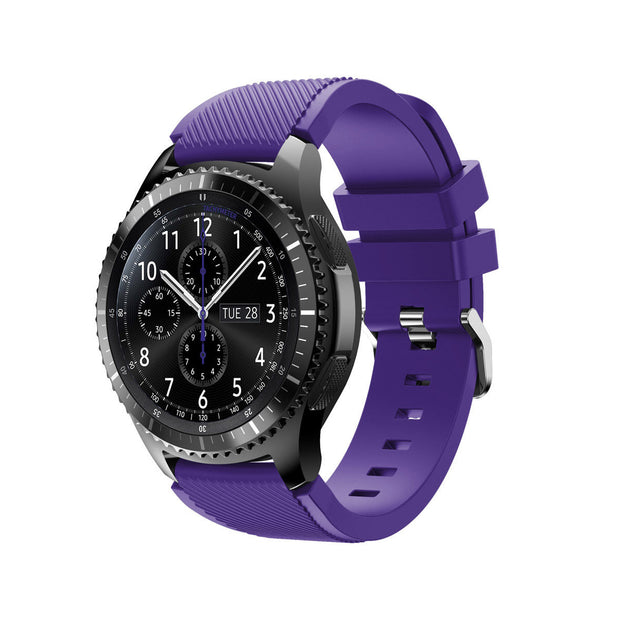 Mobile Mob Samsung Gear S3 Classic & Frontier Bands Replacement Straps Small / Purple