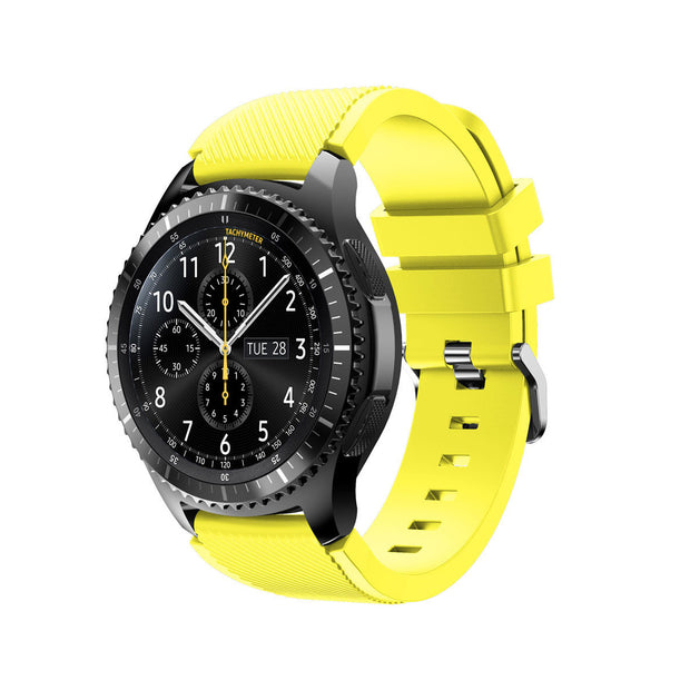 Mobile Mob Samsung Gear S3 Classic & Frontier Bands Replacement Straps Small / Yellow