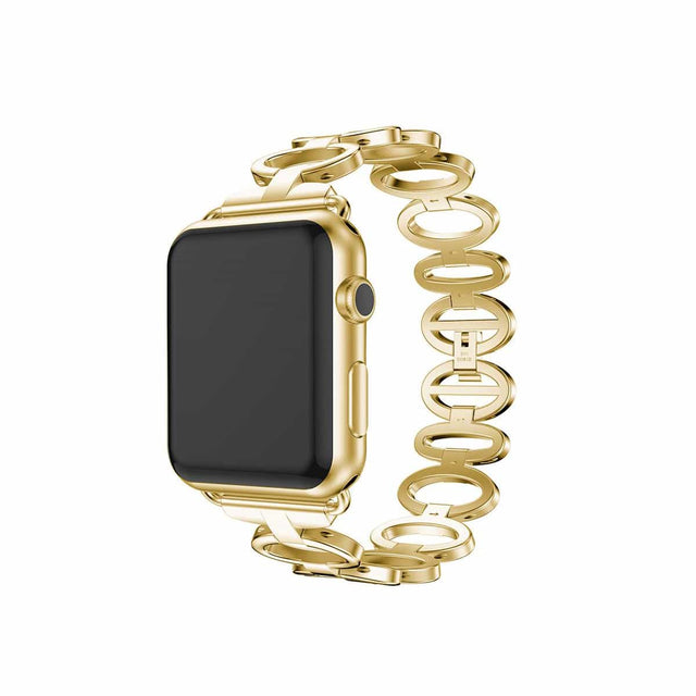 Luxe Designer Stainless Apple Watch Replacement Band