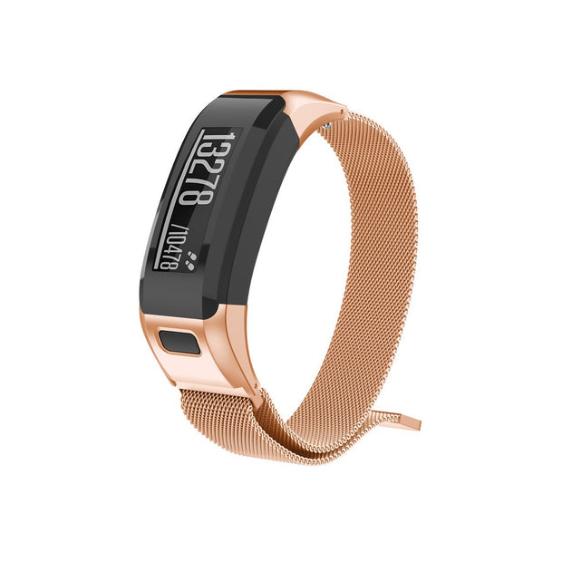 Mobile Mob Milanese Garmin Vivosmart HR Band Replacement Magnetic Lock Rose-Gold