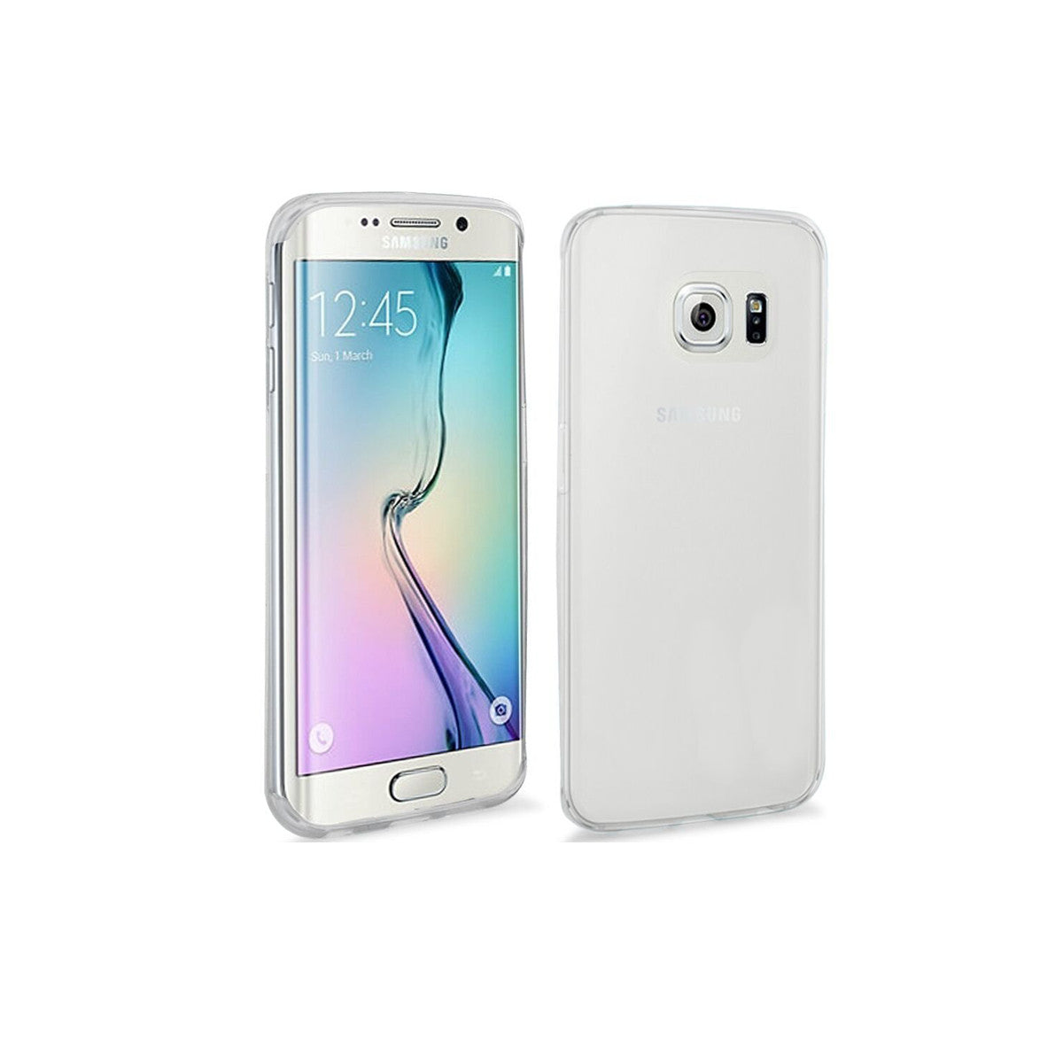 Mobile Mob Slimfit Clear Cover For Samsung Galaxy S6 Edge