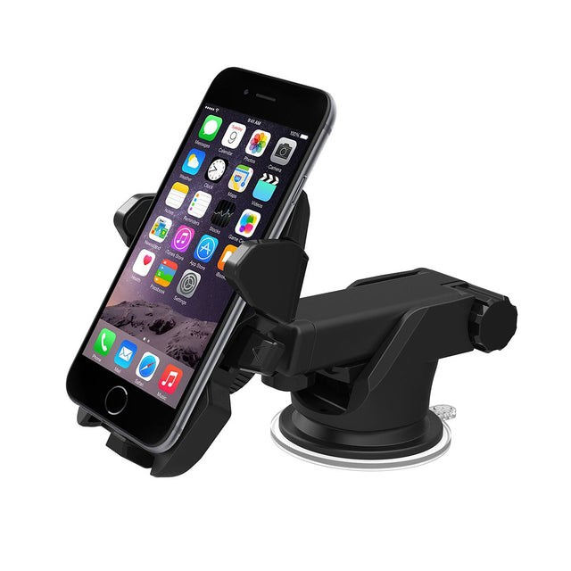 Extendable Window Car Mount For Apple iPhone 7 6 5 4 Se Plus
