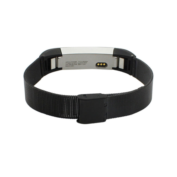 Mobile Mob Stainless Attention SeekR Fitbit Alta Bands with Quick Release Black Night