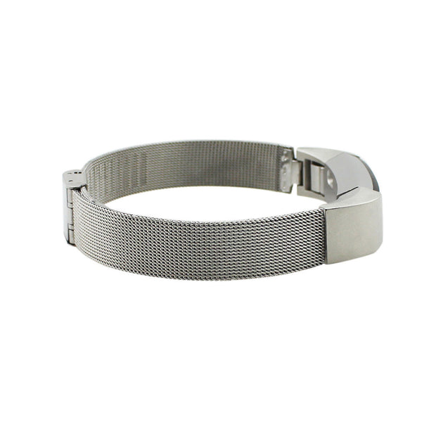Mobile Mob Stainless Attention SeekR Fitbit Alta Bands with Quick Release Silver Steel