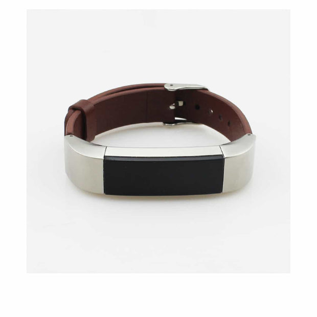 Leather Fitbit Alta & HR Bands with Stainless Buckle