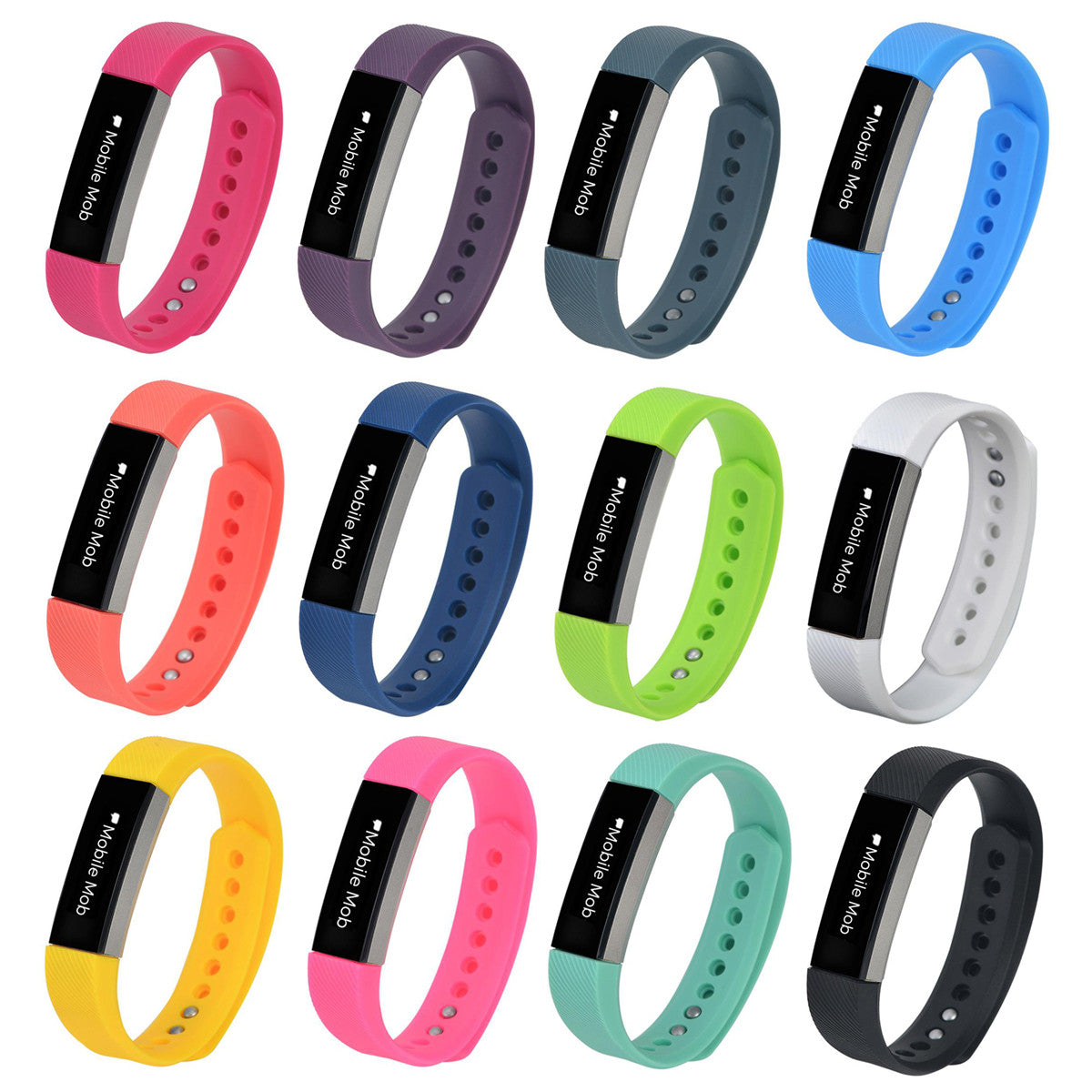 Fitbit Alta Bands Replacement Bracelet Wristband + Metal