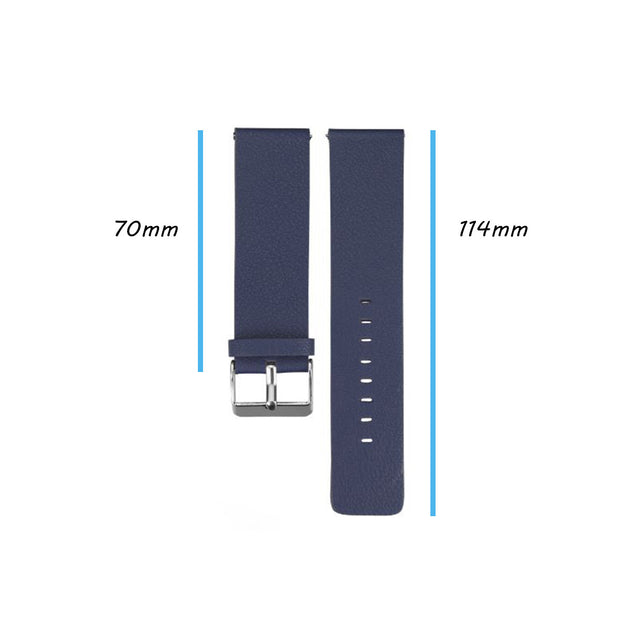 Leather Fitbit Blaze Band Replacement Strap With Stainless Buckle
