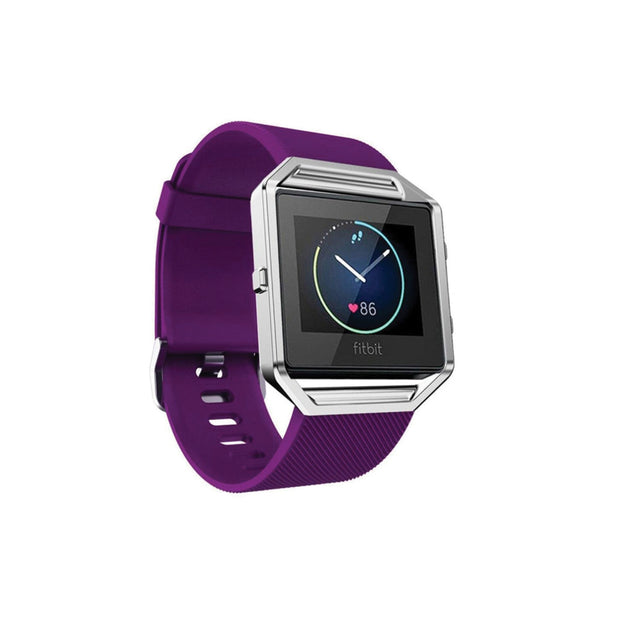 Mobile Mob Fitbit Blaze Bands Replacement Strap Dark Purple