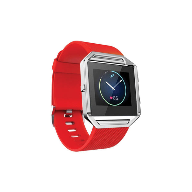 Mobile Mob Fitbit Blaze Bands Replacement Strap Red