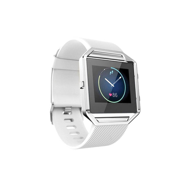 Mobile Mob Fitbit Blaze Bands Replacement Strap White