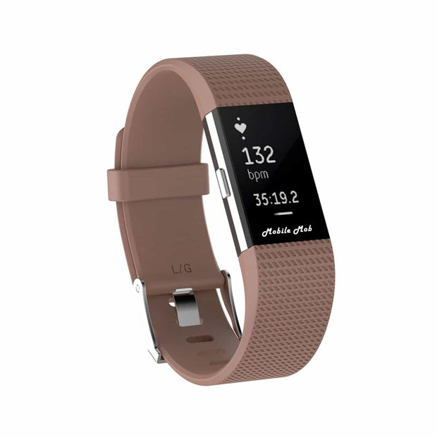 Mobile Mob Fitbit Charge 2 Bands Replacement Straps Small / Brown