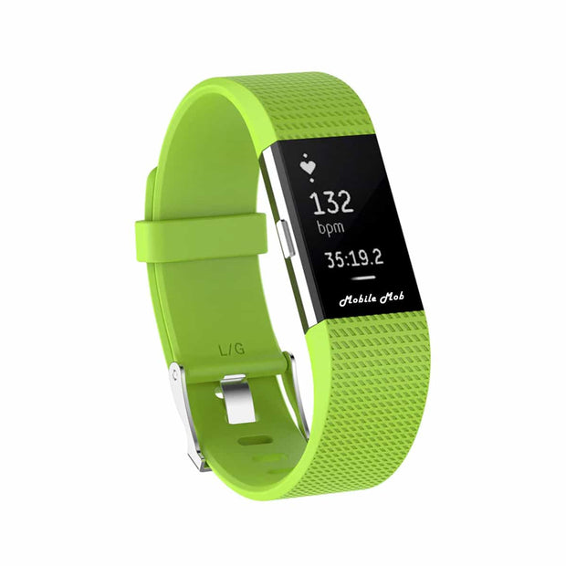 Mobile Mob Fitbit Charge 2 Bands Replacement Straps Small / Lime