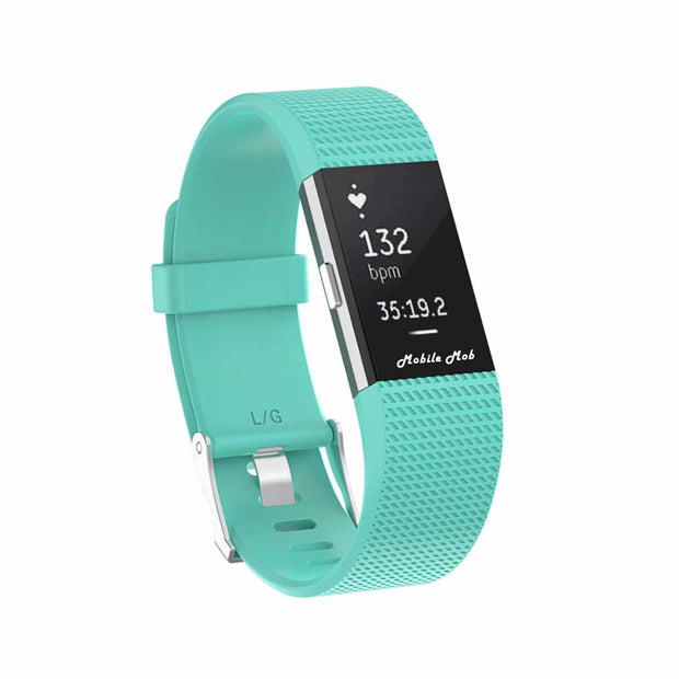 Mobile Mob Fitbit Charge 2 Bands Replacement Straps Small / Teal