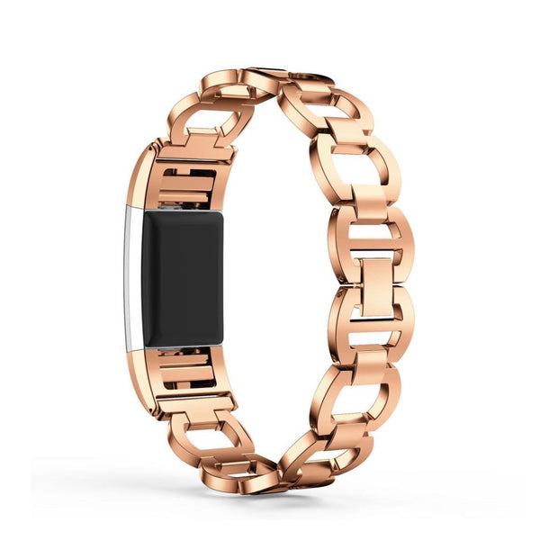 Mobile Mob Luxe Designer Stainless Fitbit Charge 2 Replacement Band