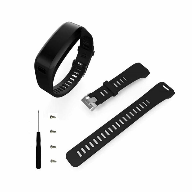Mobile Mob Garmin Vivosmart HR Bands Replacement Straps Changeover Kit Black