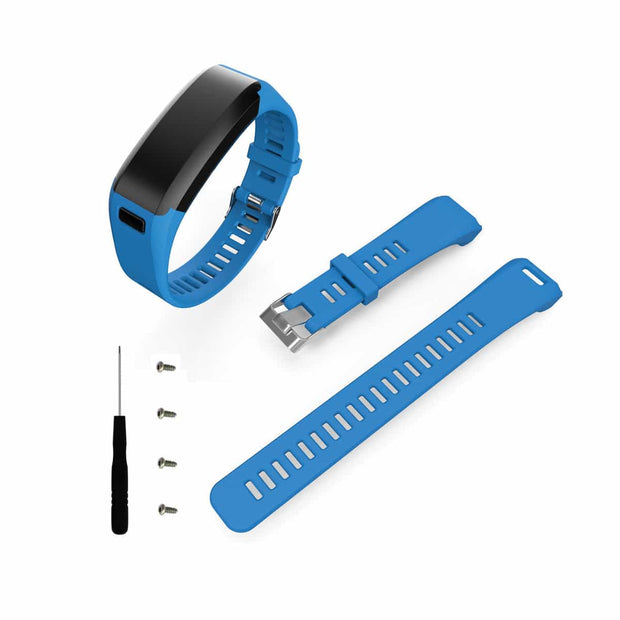 Mobile Mob Garmin Vivosmart HR Bands Replacement Straps Changeover Kit Blue