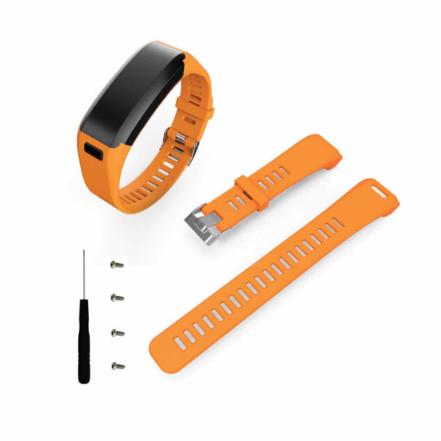 Mobile Mob Garmin Vivosmart HR Bands Replacement Straps Changeover Kit Orange