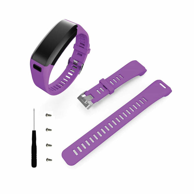 Mobile Mob Garmin Vivosmart HR Bands Replacement Straps Changeover Kit Purple