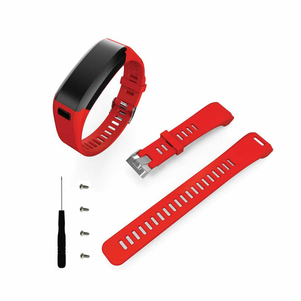 Mobile Mob Garmin Vivosmart HR Bands Replacement Straps Changeover Kit Red