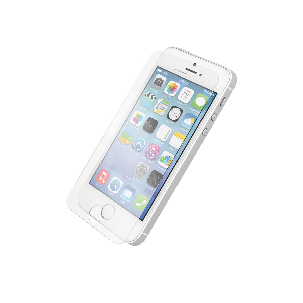 Tempered Glass Screen Protector For Apple iPhone 4/5/6/7 & Plus