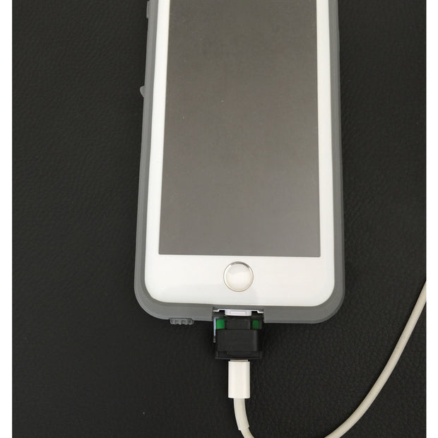 buy popular f1aa5 bbd3e iPhone Lightning Cable Extender Adapter For Lifeproof & Otterbox ...