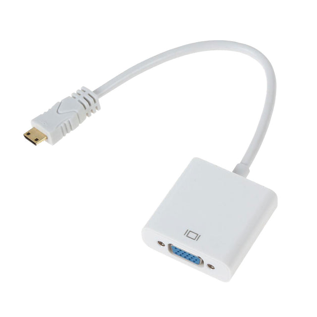 Mini HDMI to VGA Cable Adapter