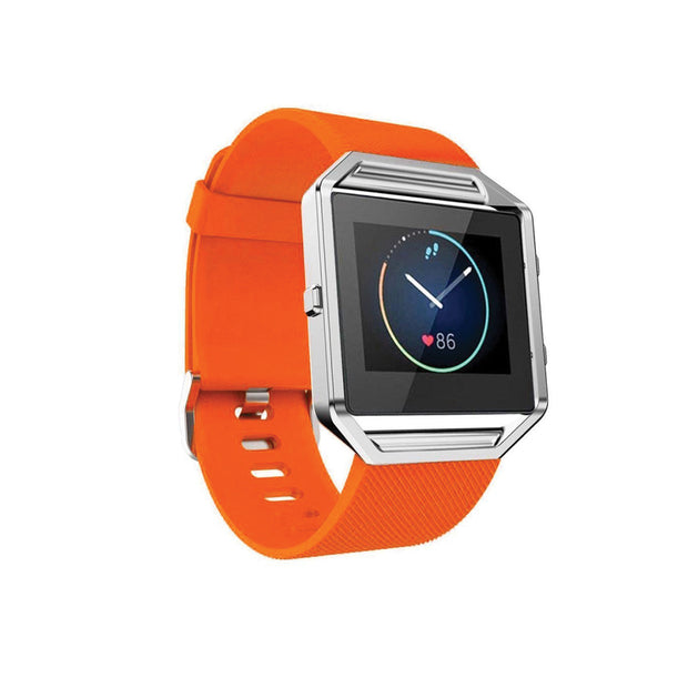 Mobile Mob Fitbit Blaze Bands Replacement Strap Orange