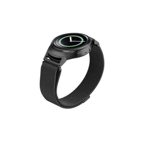 Mobile Mob Milanese Samsung Gear S2 Band Replacement Magnetic Lock SM-R720 Black Night
