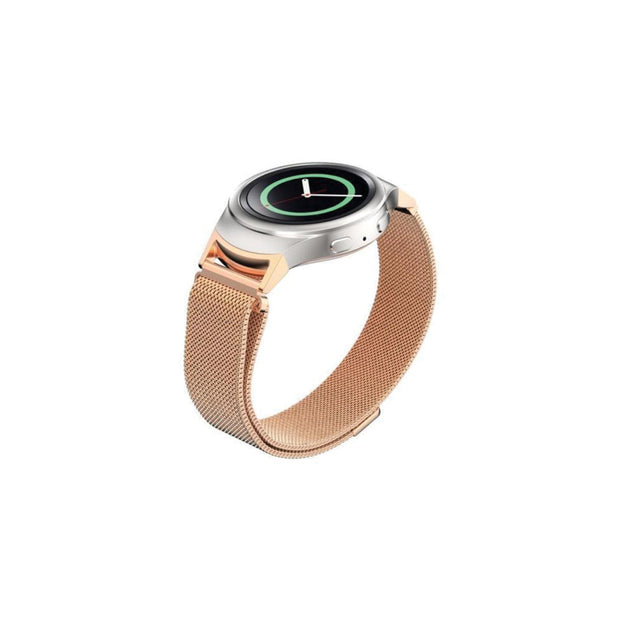 Mobile Mob Milanese Samsung Gear S2 Band Replacement Magnetic Lock SM-R720 Rose Gold