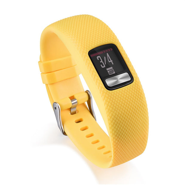 Mobile Mob Garmin Vivofit 4 Bands Replacement Strap Small / Yellow