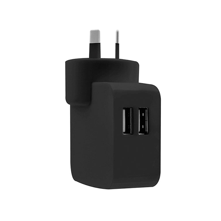 2-Port Rapid USB Wall Charger (4.2A)
