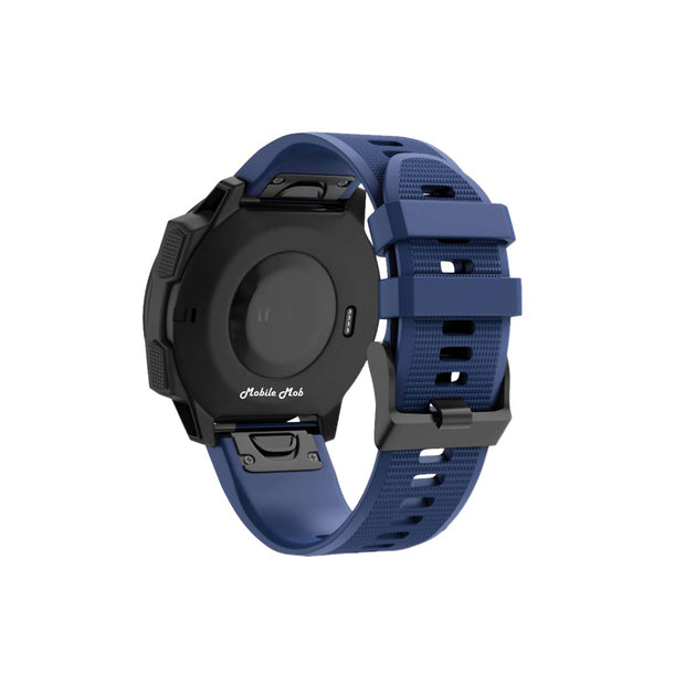 Mobile Mob Garmin Band Replacement Straps with Quick Change (22mm) Navy Blue