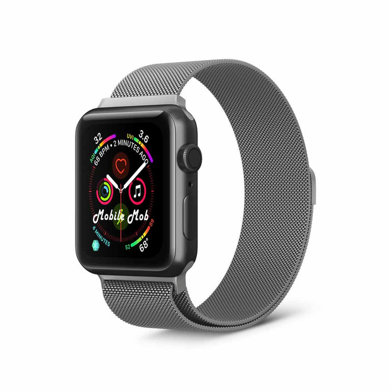 Milanese Apple Watch Band Replacement Magnetic Lock