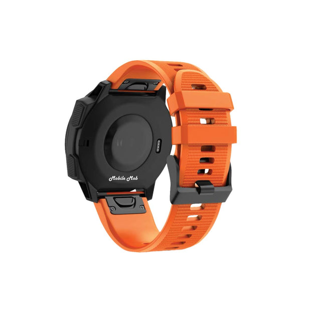Mobile Mob Garmin Band Replacement Straps with Quick Change (22mm) Orange