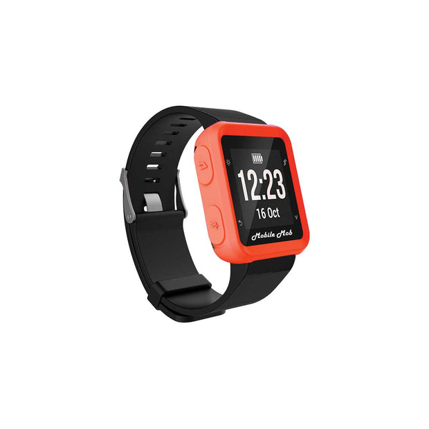 Mobile Mob Shockproof Garmin Forerunner 35 Protective Cover Case Orange