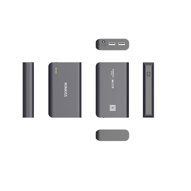 Romoss Premium Sense X Fast Charging QC 3.0 Power Bank 10,000mAh
