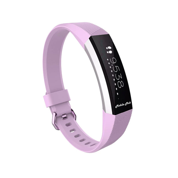 Mobile Mob Fitbit Ace Bands Replacement Straps with Buckle (Kids Size) Light Purple