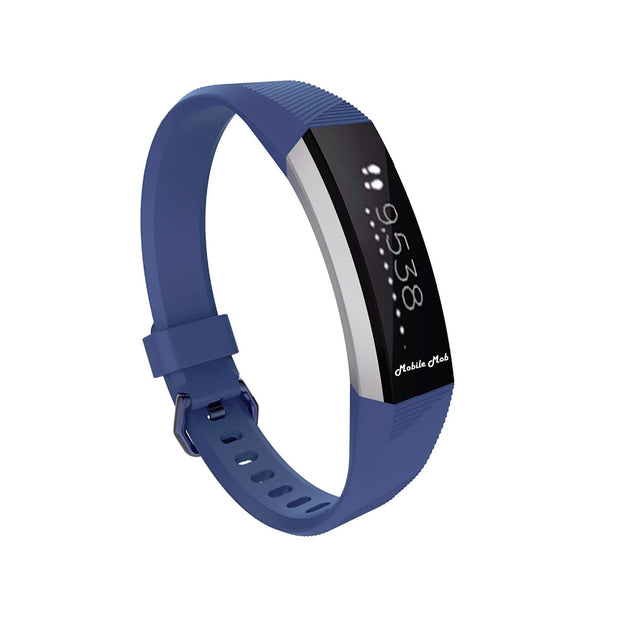 Mobile Mob Fitbit Ace Bands Replacement Straps with Buckle (Kids Size) Navy Blue