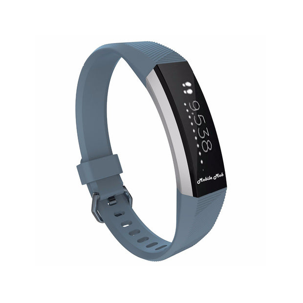 Mobile Mob Fitbit Ace Bands Replacement Straps with Buckle (Kids Size) Slate Grey