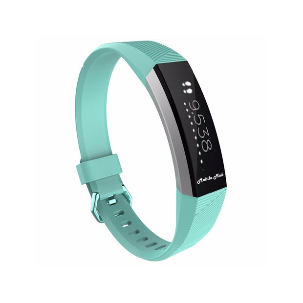 Mobile Mob Fitbit Ace Bands Replacement Straps with Buckle (Kids Size) Teal