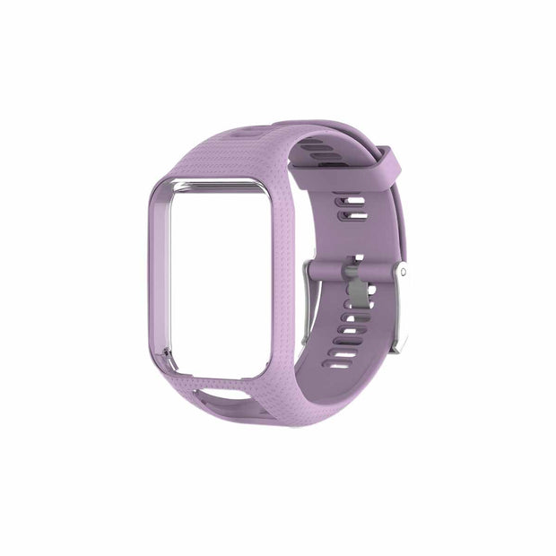 Mobile Mob TomTom Runner 2 & 3 Bands Replacement Strap Light Purple