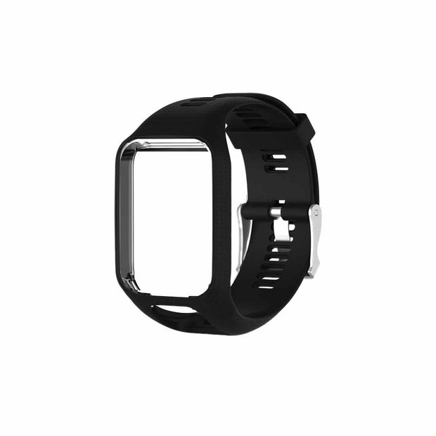 Mobile Mob TomTom Runner 2 & 3 Bands Replacement Strap Black