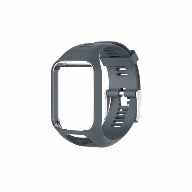 TomTom Runner 2 & 3 Bands Replacement Strap - Dark Grey